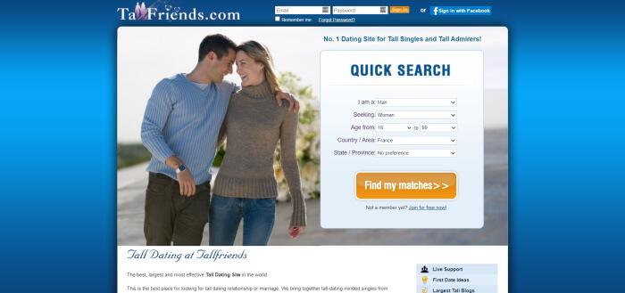 tallfriends review